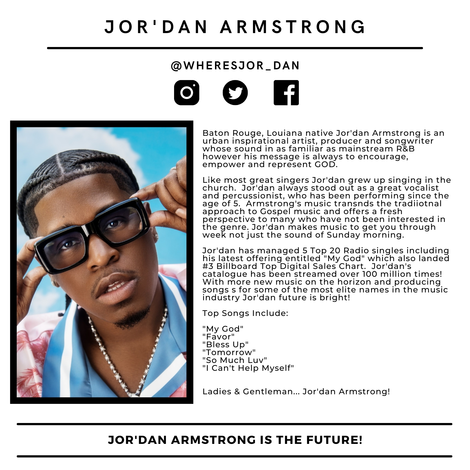 Jor'dan Armstrong Bio 2021
